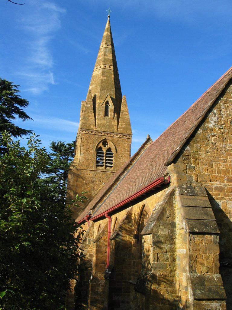 CHURCH OF ST JOHN THE BAPTIST AVON DASSETT